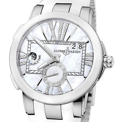 Ulysse Nardin Executive Dual Time Lady - 243-10-3/391