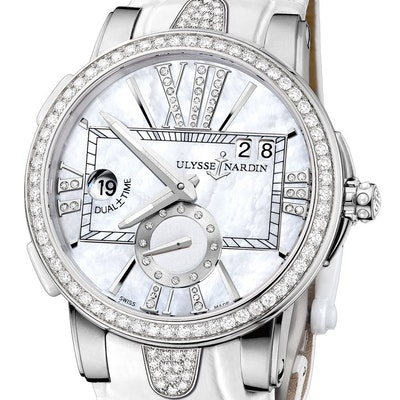 Ulysse Nardin Executive Dual Time Lady - 243-10B/391