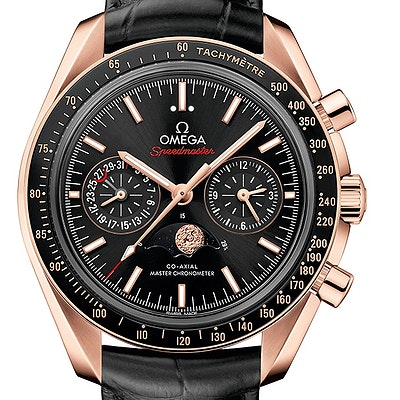 Omega Speedmaster Moonwatch Co-Axial Master Chronometer Moonphase Chronograph - 304.63.44.52.01.001