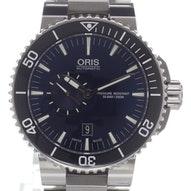 Oris Aquis Small Second Date - 01 743 7673 4135-07 8 26 01PEB