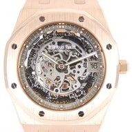 Audemars Piguet Royal Oak Ultra Thin Skeleton - 15204OR.OO.1240OR.01