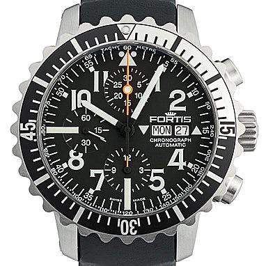 Fortis Marinemaster Chronograph - 671.17.41 L01