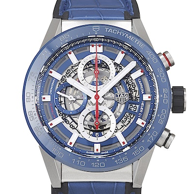 Tag Heuer Carrera Calibre Heuer 01 Automatic Chronograph - CAR201T.FC6406