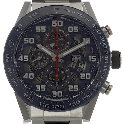 Tag Heuer Carrera Calibre HEUER 01 Automatic Chronograph Aston Martin Red Bull Racing Special Edition - CAR2A1K.BA0703
