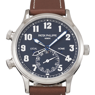 Patek Philippe Complications Calatrava Pilot Travel Time - 5524G-001