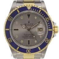 """Rolex Submariner Date """"Serti dial"""" - 16613"""