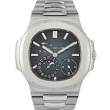 4126a6a6f0f Patek Philippe Nautilus Power Reserve Moon Phases - 5712 1A-001