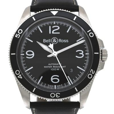 Bell & Ross BR V Black Steel - BRV292-BL-ST/SCA
