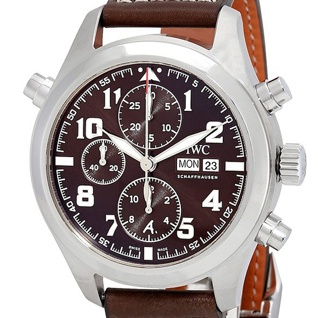 finest selection 9b970 27665 IWC Pilot's Watch Double Chronograph Ltd. IW371808