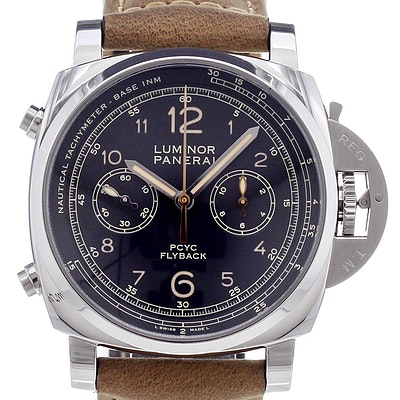 Panerai Luminor 1950 PCYC 3 Days Chrono Flyback Automatic Acciaio - PAM00653
