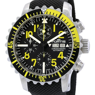 Fortis Marinemaster Chronograph - 671.24.14 LP01