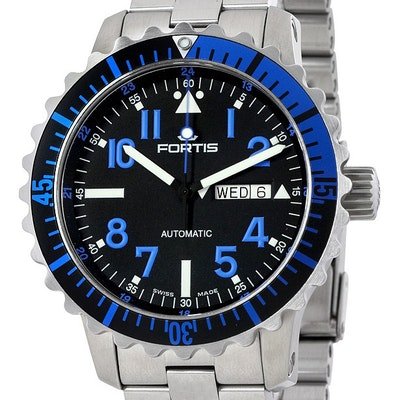 Fortis Marinemaster Blue - 670.15.45 M