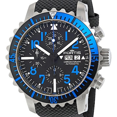 Fortis Marinemaster Blue Chronograph - 671.15.45 LP01