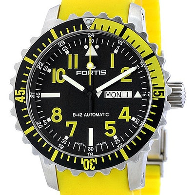 Fortis Marinemaster Yellow - 670.24.14 SI04
