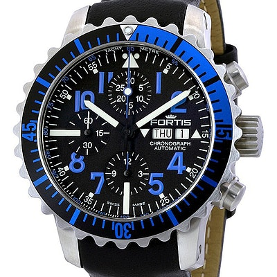 Fortis Marinemaster Blue Chronograph - 671.15.45 L01
