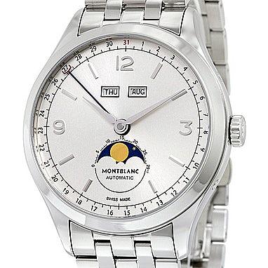 Montblanc Heritage Chronométrie Quantième Complet 112538 ...