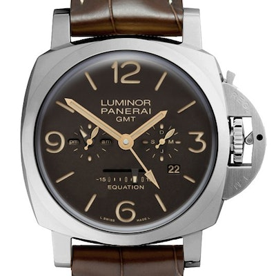 Panerai Luminor 1950 Equation of Time 8 Days GMT Titanio - PAM00656