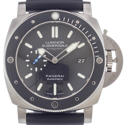 Panerai Luminor 1950 Submersible Amagnetic 3 Days Automatic Titanio - PAM01389