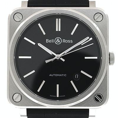 Bell & Ross BR S  - BRS92-BLC/SCR