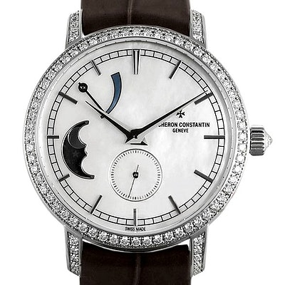 Vacheron Constantin Traditionnelle Moon Phase and Power Reserve Small Model - 83570/000G-9916
