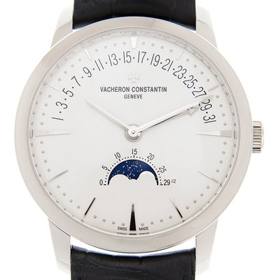 Vacheron Constantin Patrimony Moon Phase and Retrograde Date - 4010U/000G-B330