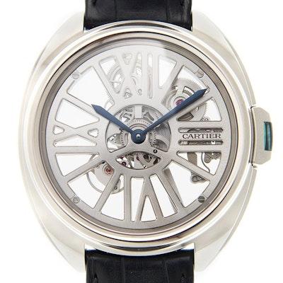 Cartier Clé Skelett Automatik - WHCL0008