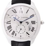 Cartier Drive Großdatum Retrograde Zweite Zeitzone und Tag- und Nachtanzeige - WSNM0005