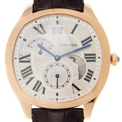 Cartier Drive Großdatum Retrograde Zweite Zeitzone und Tag- und Nachtanzeige - WGNM0005