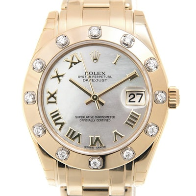 Rolex Pearlmaster 34 - 81318