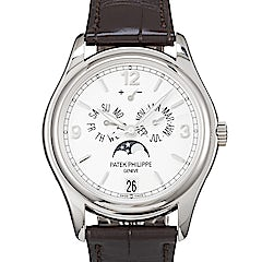 Patek Philippe Complications Annual Calender Moon Phases - 5146G-001