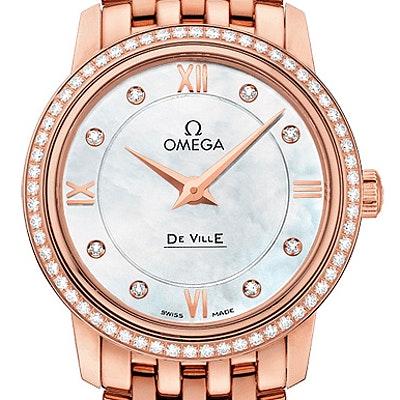 Omega De Ville Prestige Quartz - 424.55.27.60.55.002