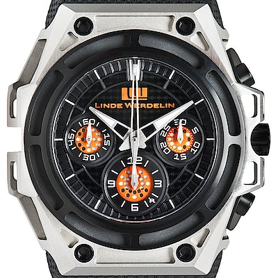 Linde Werdelin Spidospeed Black Orange Ltd. - SPIDOSPEED BLACK ORANGE