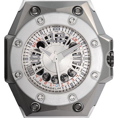 Linde Werdelin Oktopus Moonlite White Ltd. - OKTOPUS MOONLITE WHITE
