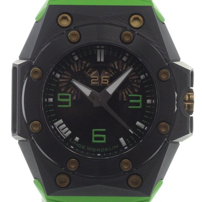 Linde Werdelin Oktopus Double Date Carbon Green Ltd. - OKTOPUS DOUBLE DATE CARBON GREEN