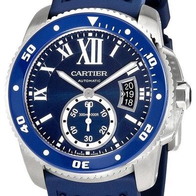 Cartier Calibre Diver blau - WSCA0011