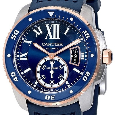 Cartier Calibre Diver blau - W2CA0009