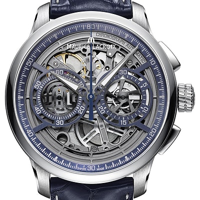 Maurice Lacroix Masterpiece Chornograph Skeleton - MP6028-SS001-002-1