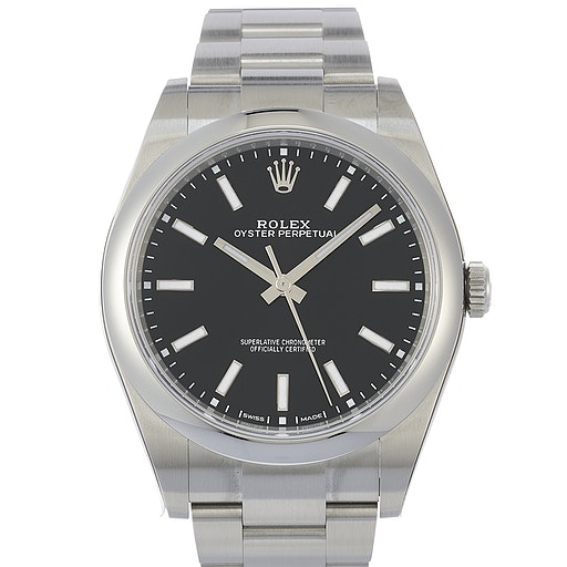 rolex oyster perpetual 114300 kaufen chronext. Black Bedroom Furniture Sets. Home Design Ideas