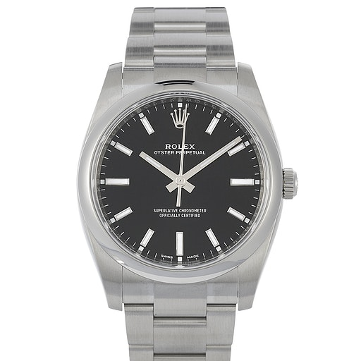 rolex oyster perpetual 114200 kaufen chronext. Black Bedroom Furniture Sets. Home Design Ideas