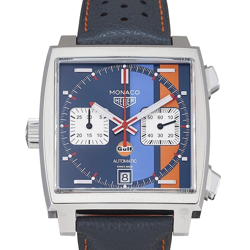 f7120521b1e0 Tag Heuer. Monaco Calibre 11 Automatic Chronograph Gulf Special Edition