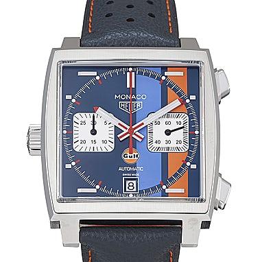 Tag Heuer Monaco Calibre 11 Automatic Chronograph Gulf Special Edition - CAW211R.FC6401