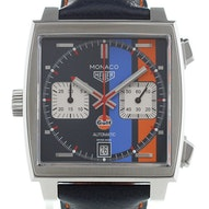 "Tag Heuer Monaco Calibre 11 Automatic Chronograph Gulf Special Edition ""Baselworld 2018"" - CAW211R.FC6401"