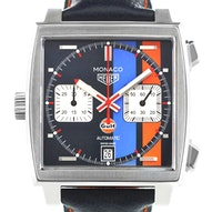 "Tag Heuer Monaco Calibre 11 Automatic Chronograph Gulf Special Edition ""Baselworld 2018 - CAW211R.FC6401"