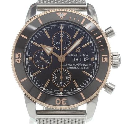 "Breitling Superocean Heritage II Chronograph 44 ""Baselworld 2018"" - U13313121B1A1"