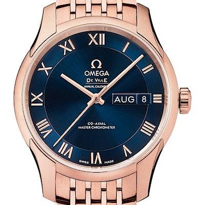Omega De Ville Hour Vision Co-Axial Master Chronometer Annual Calendar - 433.50.41.22.03.001