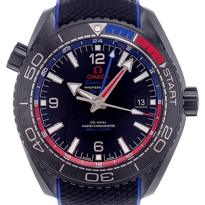 Omega Seamaster Planet Ocean 600M Co-Axial Master Chronometer GMT - 215.92.46.22.01.004