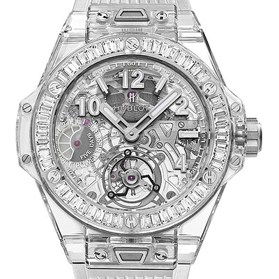 Hublot Big Bang Tourbillon Power Reserve 5 Days Sapphire Baguettes - 405.JX.0120.RT.1904