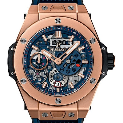 Hublot Big Bang Meca-10 King Gold Blue - 414.OI.5123.RX