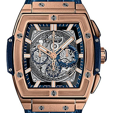 Hublot Spirit of Big Bang King Gold Blue - 601.OX.7180.LR