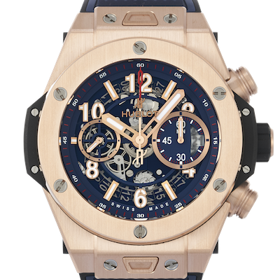 Hublot Big Bang Unico King Gold Blue - 411.OX.5189.RX